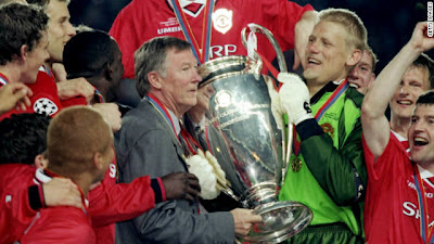 alex ferguson champions league 1999