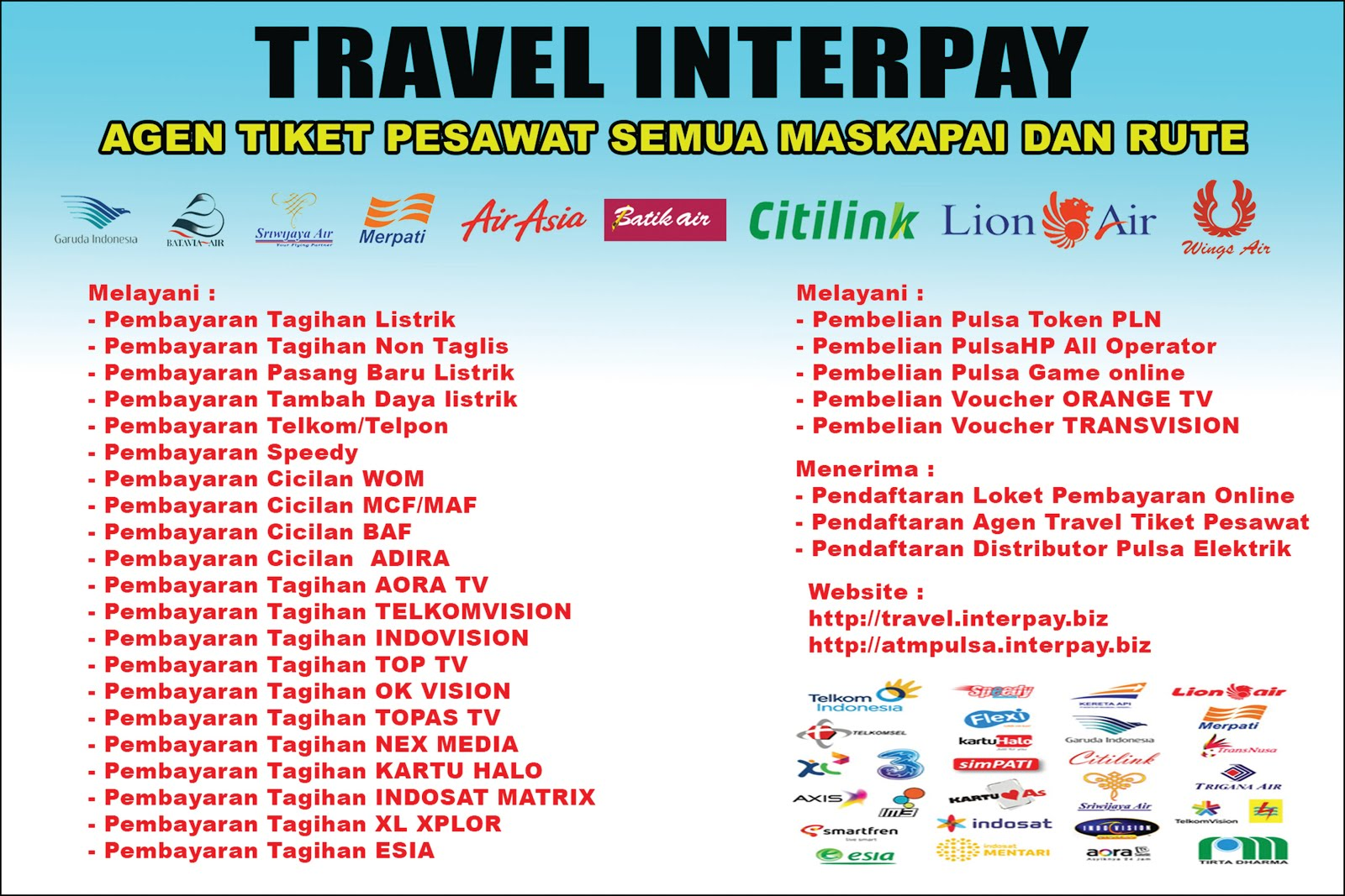 AGEN TRAVEL INTERPAY