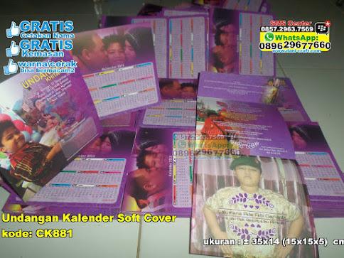 Undangan Kalender Soft Cover jual