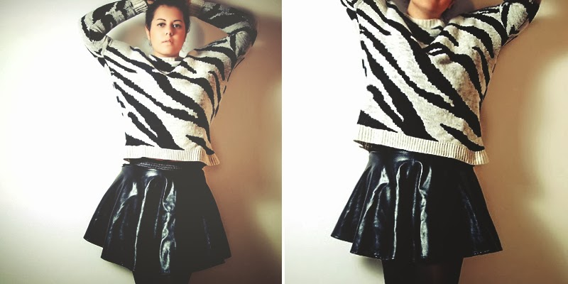 http://www.mixelchic.it/2013/11/striped-mango-sweater-leather-skirt-and.html