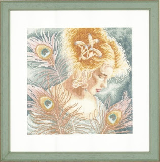 Lanarte, Девушка с перьями павлина