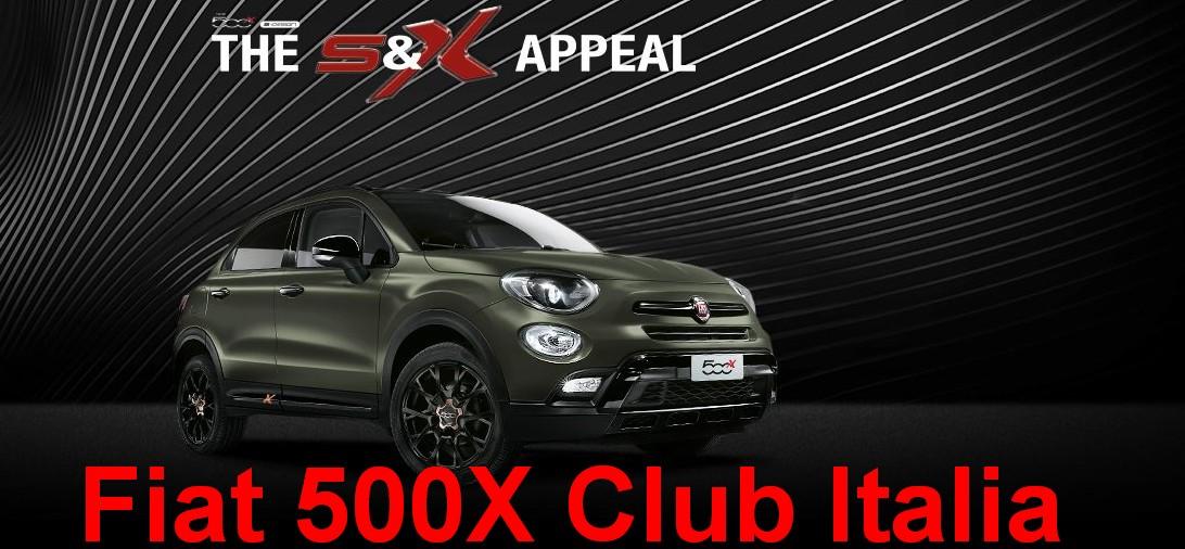 Fiat 500X Club Italia