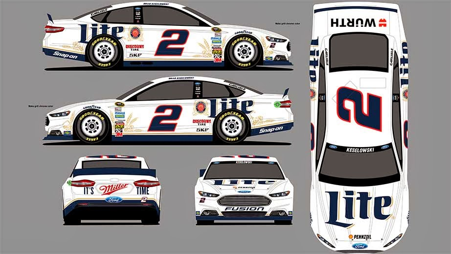 The new old school white scheme looks pretty nice. Sounds like it will ...