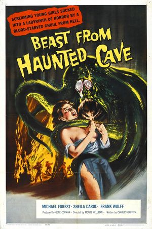 BEAST FROM HAUNTED CAVE - A BESTA DA CAVERNA ASSOMBRADA - 1959