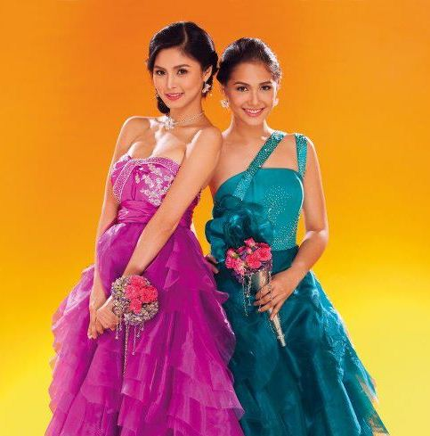 Kim Chiu and Maja Salvador