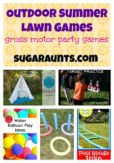 Outdoor Summer Lawn Games