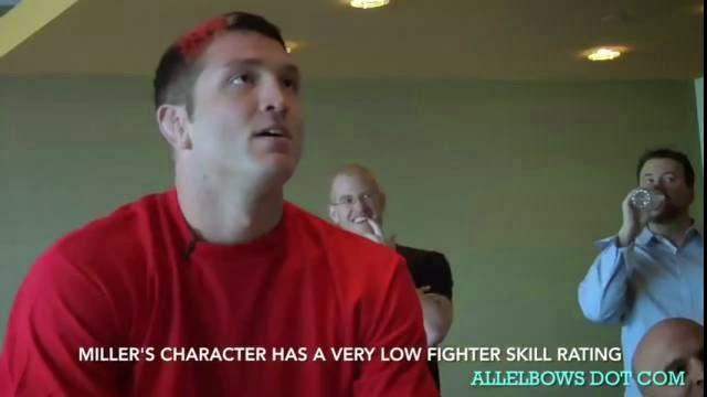 Un combattant MMA Mayhem Miller perd la tête contre les programmeurs de EA