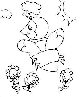 riscos abelhas flores
