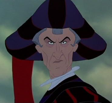 Frollo The Hunchback of Notre Dame 1996 animatedfilmreviews.blogspot.com
