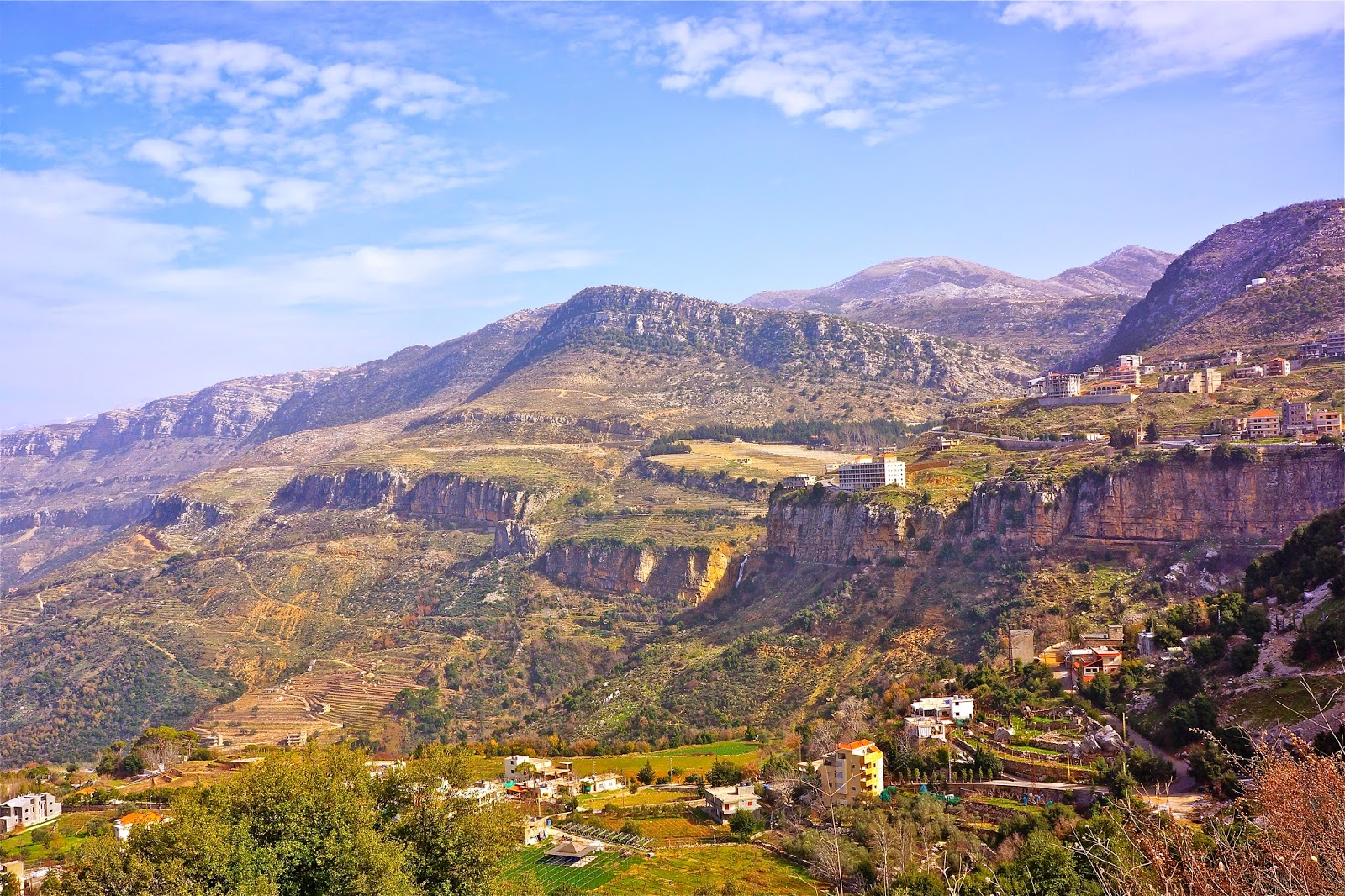 Picture of Jezzine in South Lebanon.