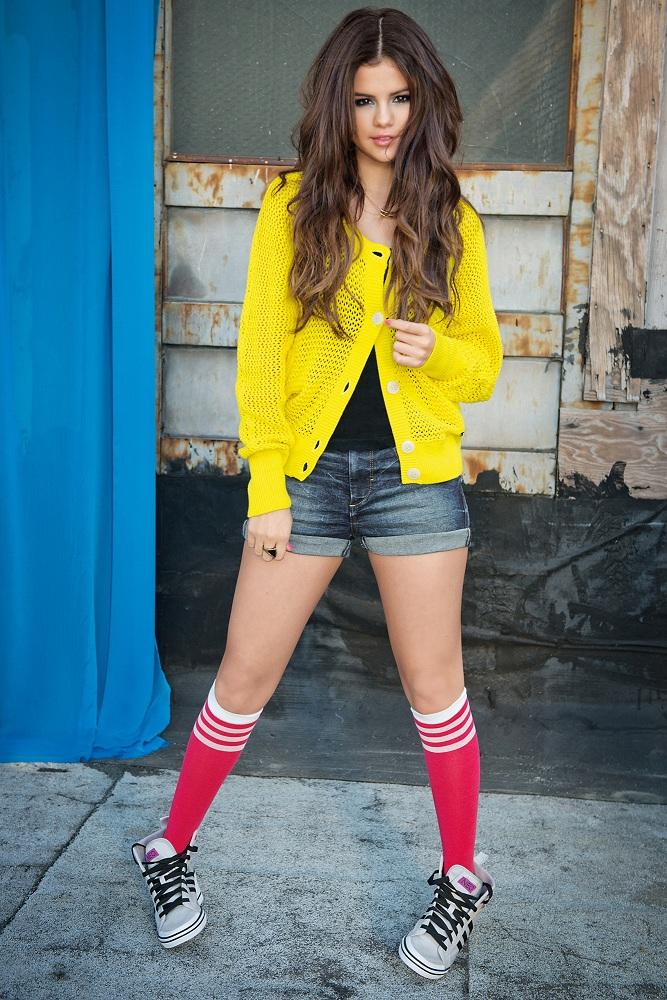 Selena Gomez poses for Adidas Neo Photoshoot