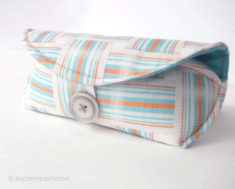 sunglasses cases sewing project septemberhouse
