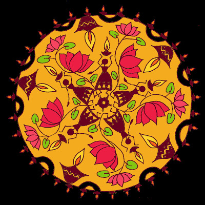 Beautiful Rangoli Designs & Patterns For Diwali !