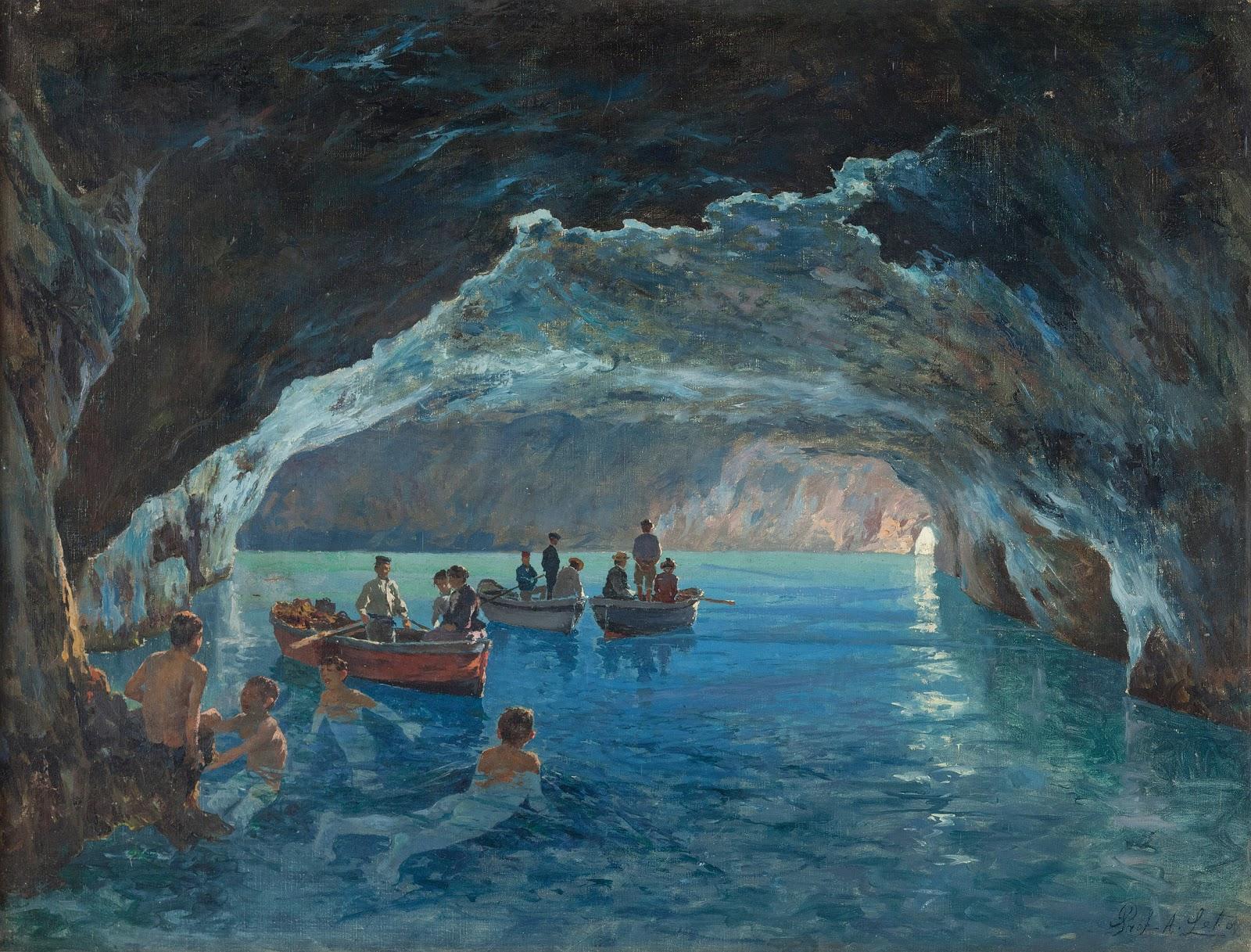 Antonino Leto La grotta azzurra
