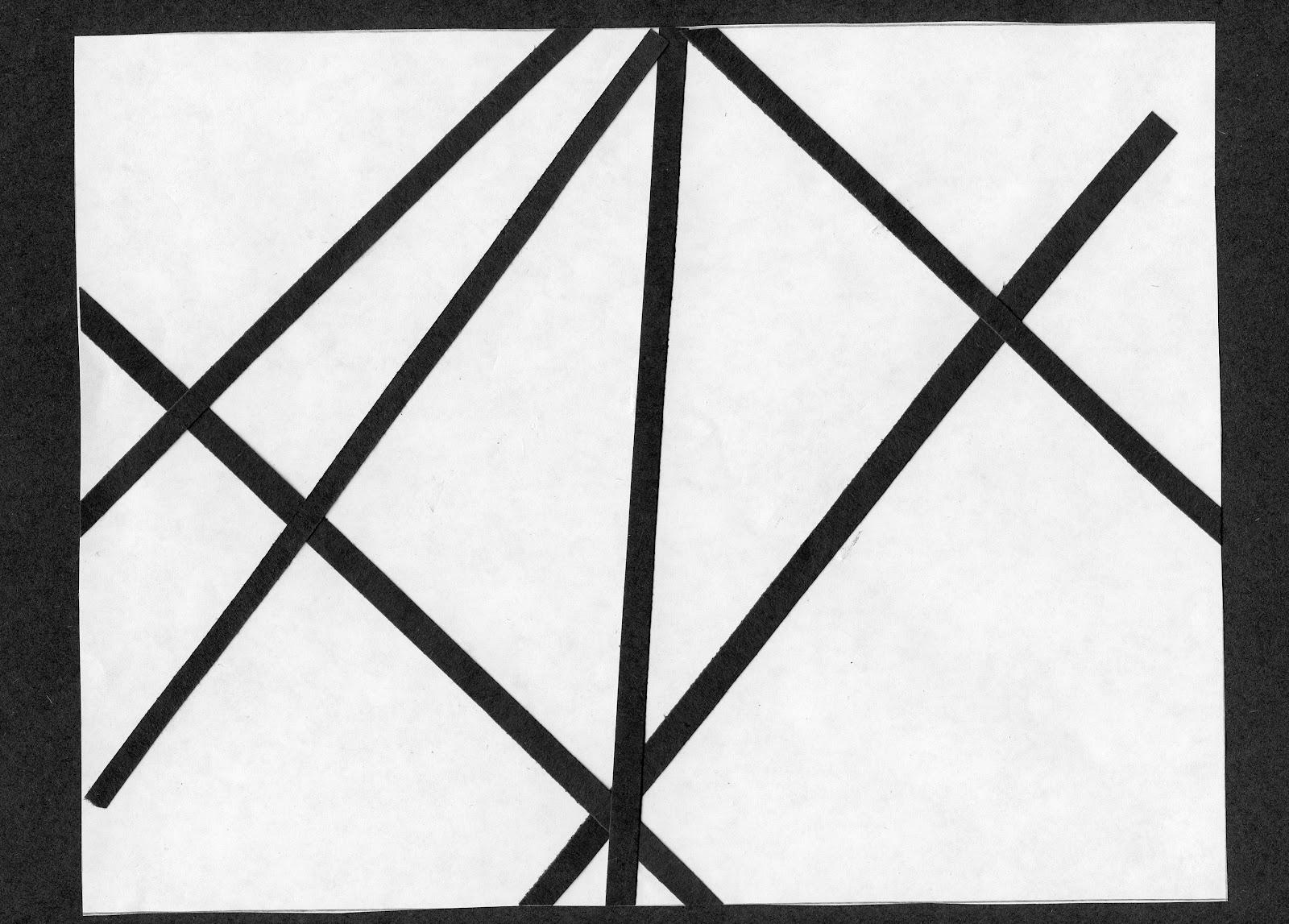 Line Composition Design : Finished compositions amber s d design