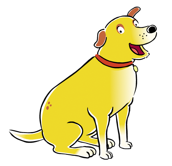 Cartoon Characters: Martha Speaks (PNG)