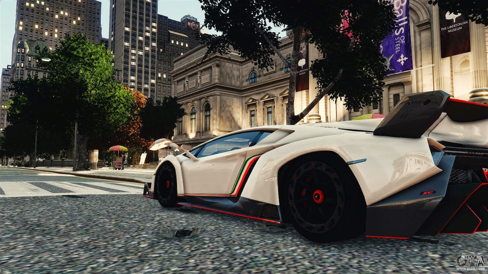 Lamborghini Veneno For Gta Iv Beside