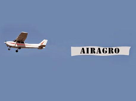 AIRAGRO - Publicitate aeriana
