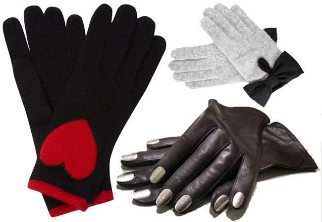 moschino gloves,nails gloves,bow gloves,diy gloves,diy