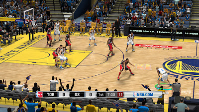 NBA 2K13 Warriors Court Update Patch NBA2K