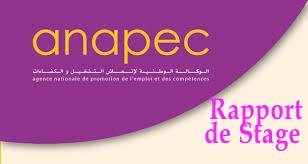 Rapport de stage ANAPEC Images
