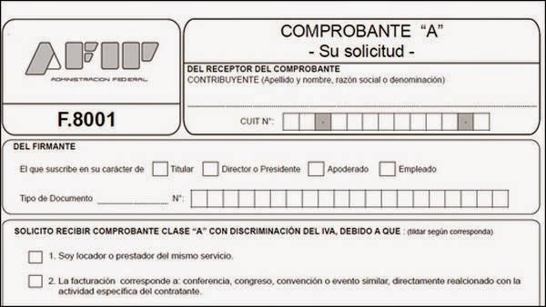Formulario 8001: Dudas y Preguntas frecuentes - Ignacio online