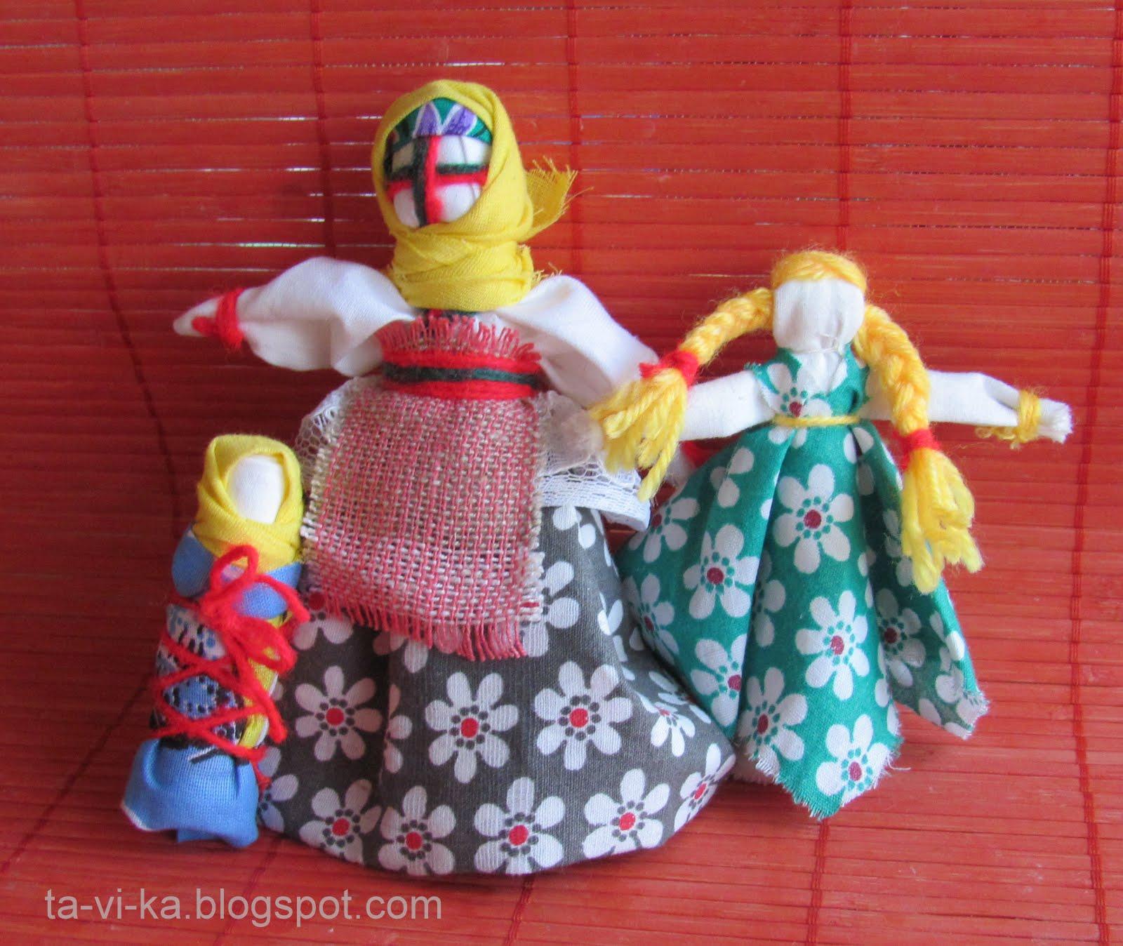 Куклы своими руками из любого материала
