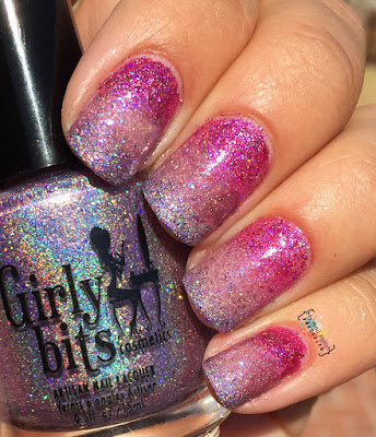 Girly Bits What Happens In Vegas Ends Up On... gradient