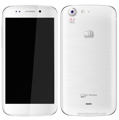 Micromax Canvas A240 Android phone