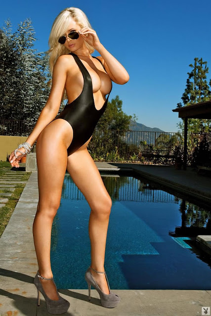 Tiffany Toth in Swimsuit