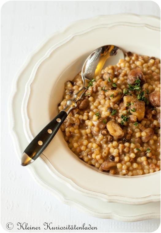 One-Pot Pasta | Pastasotto mit Maronen und Comté