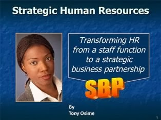 Strategic Human Resource Management PPT Slide 1