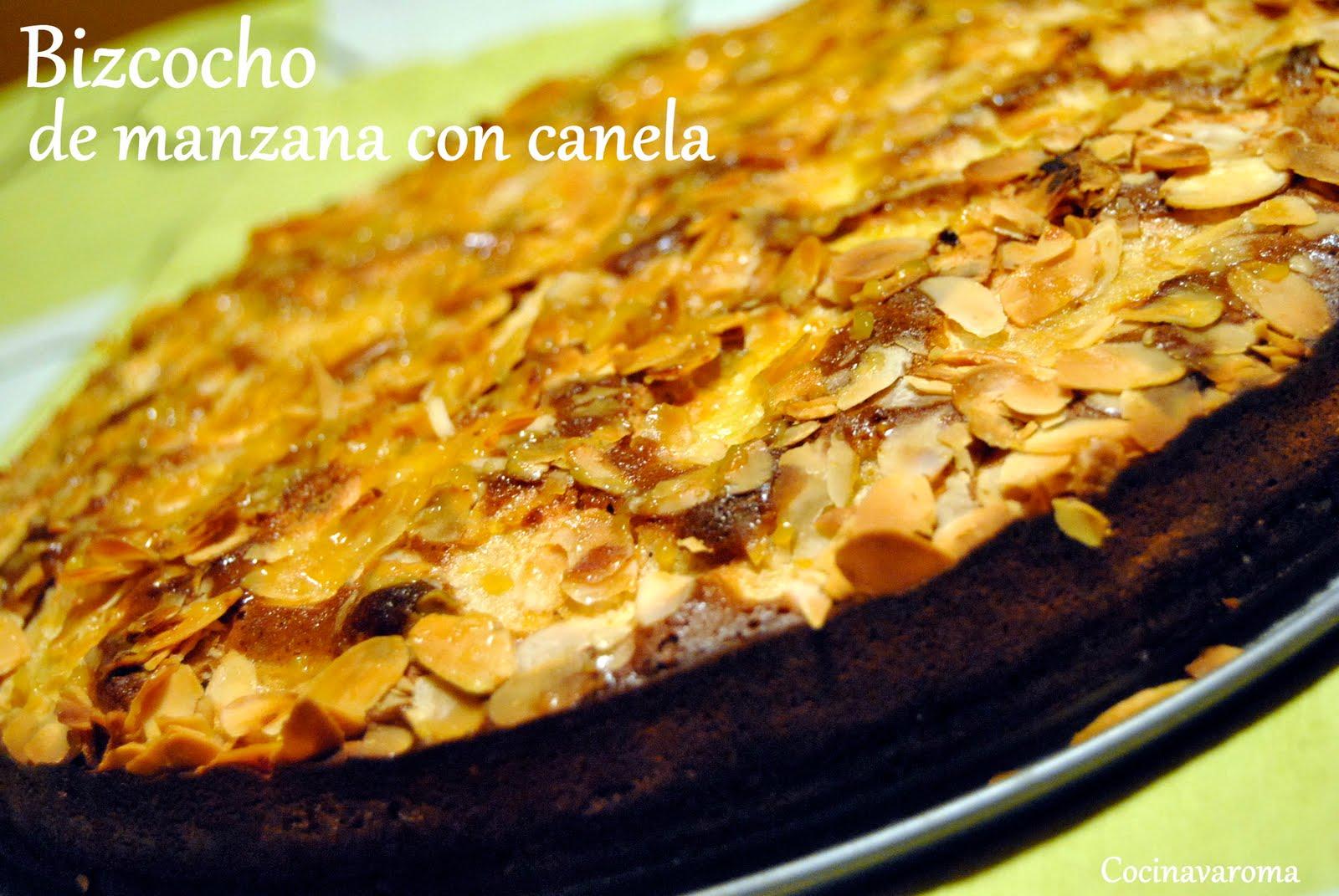 Cocina varoma bizcocho de manzana con canela for Bizcocho de manzana y canela