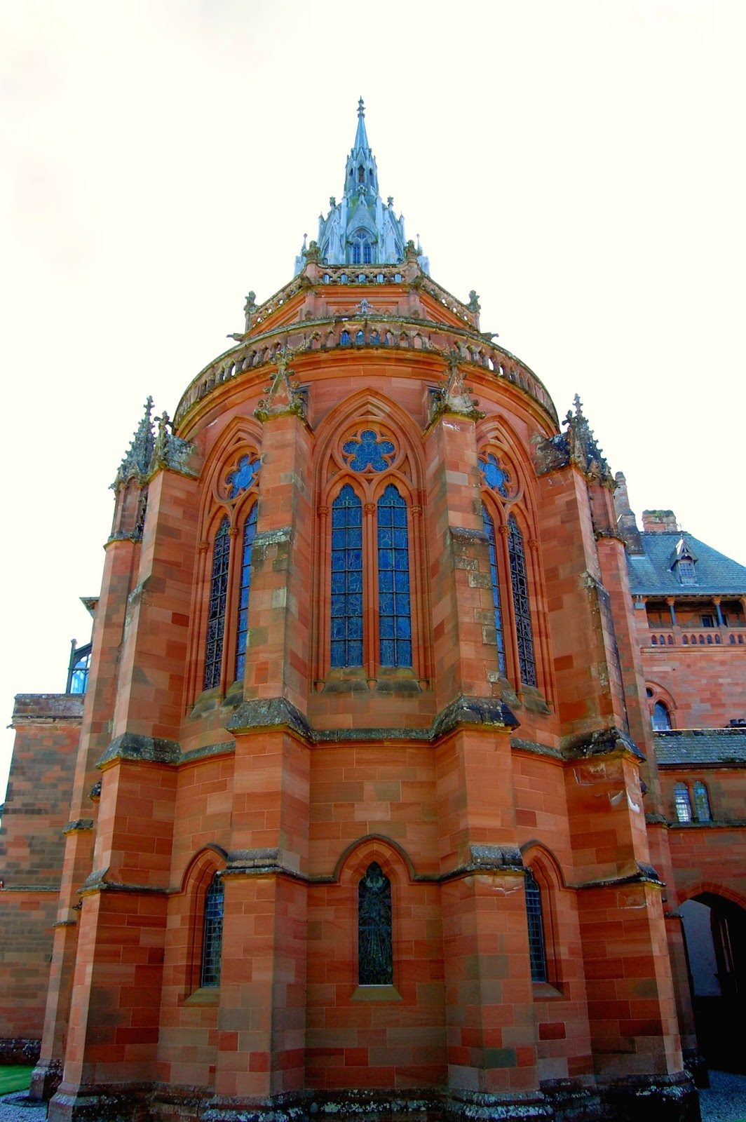 Chapel apse of Mount Stuart House, Isle of Bute