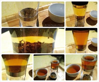 Tee Shaker (Tea Shaker) im Einsatz