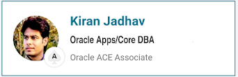 Oracle ACE Associate