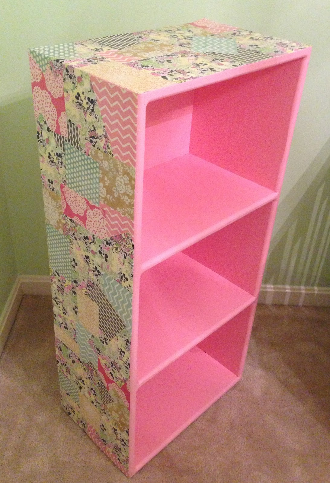 Now All You Need To Do Is Repeat On The Sides And Have Transformed A Plain Bookcase Into Something Special Unique I Am So Hy With How This