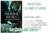 sherlock holmes, zombies, camford, book, libro,