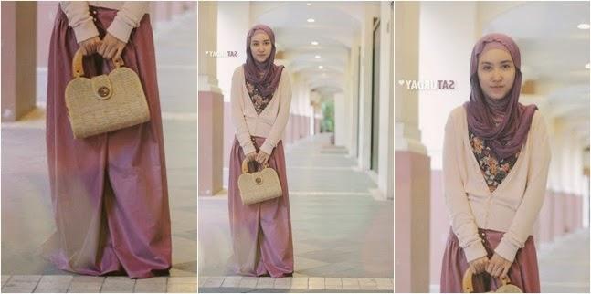 Busana Hijab Kuliah Untuk Wanita Feminim