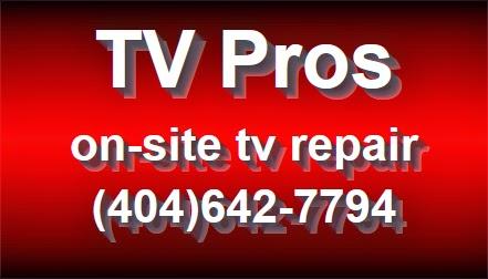mobile tv repair atlanta - Mobile Tv Repair