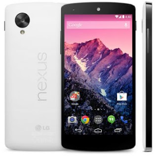 Google Nexus 5 Smartphone with Android 4.4 KitKat OS