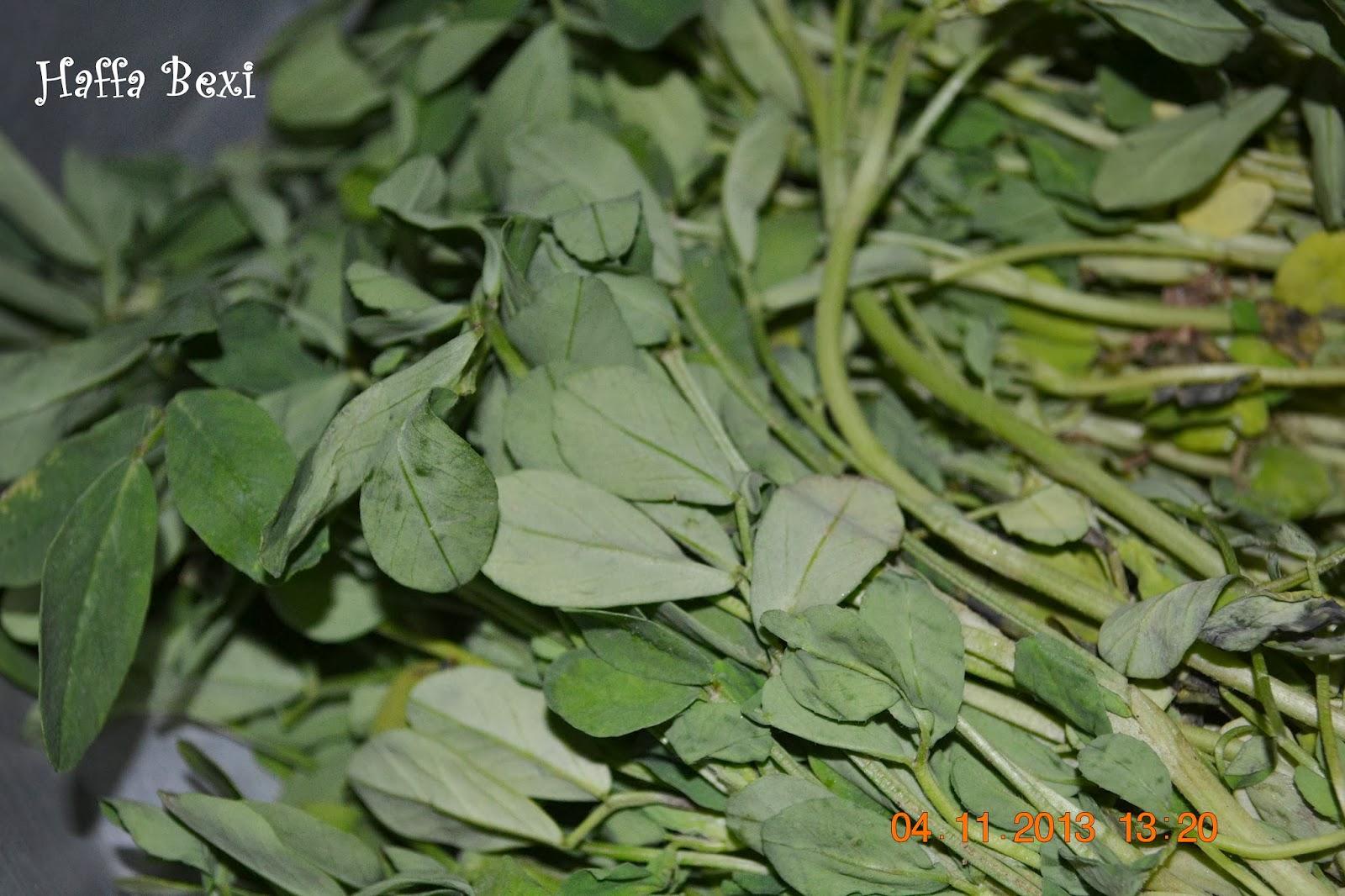 Aloo Methi (Potatoes with Fenugreek Leaves) | Haffa's kitchen ...