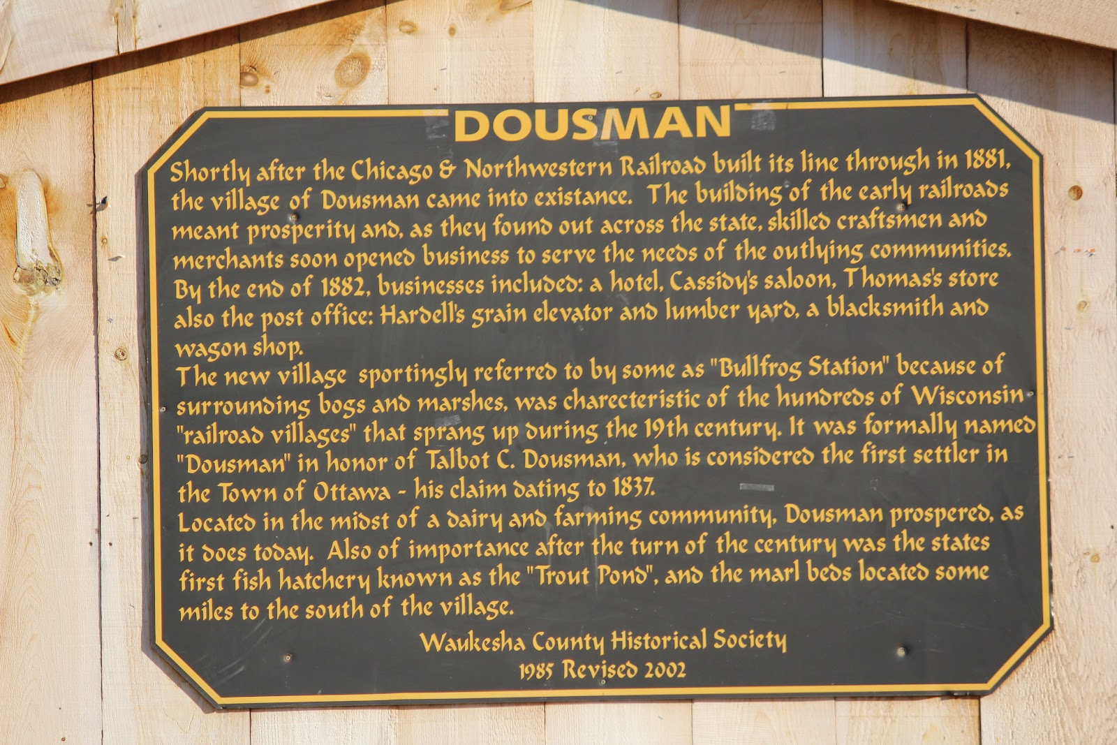 dousman personals Find personals listings in whitewater, wi on oodle classifieds join millions of people using oodle to find great personal ads don't miss what's happening in your neighborhood.