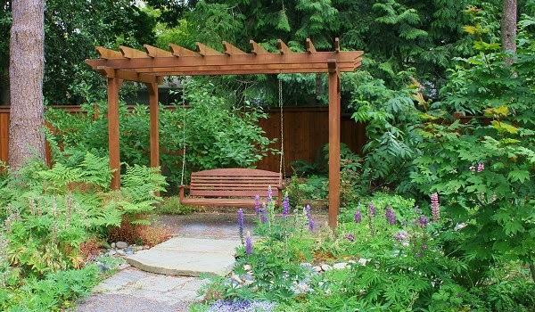 La Maison Boheme Bench Swing for the Garden
