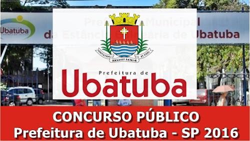 Apostila Concurso Prefeitura de Ubatuba 2016