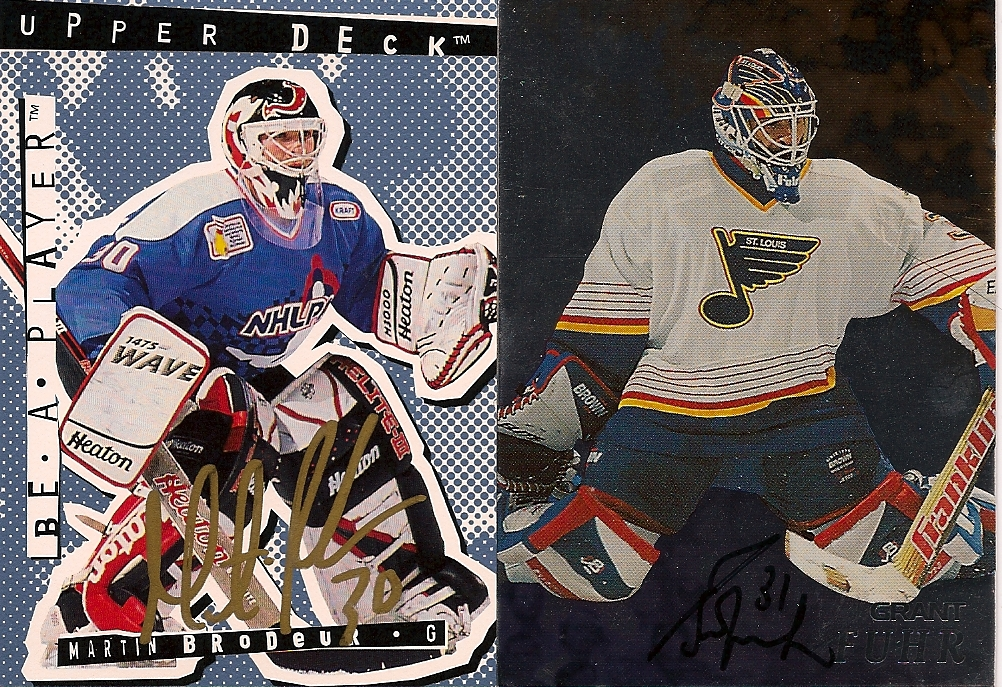 Hockey Ink In The Mail Martin Brodeur And Some More Legends