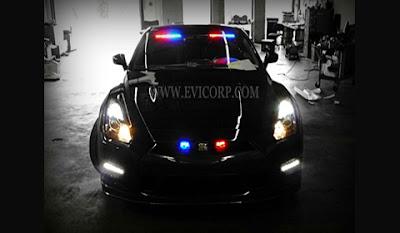 Nissan, GTR, Police