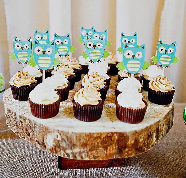 Owl Cupcakes For Baby Shower: All Things Wedding: DIY Owl-Themed Baby Shower