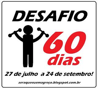 Desafio dos 60 dias!