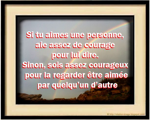 Citation Personne Courageuse en image